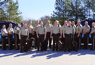 Sheriff School Resource Officers Group Photo