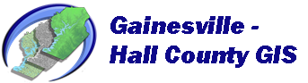 Gainesville Hall County Hall GIS logo