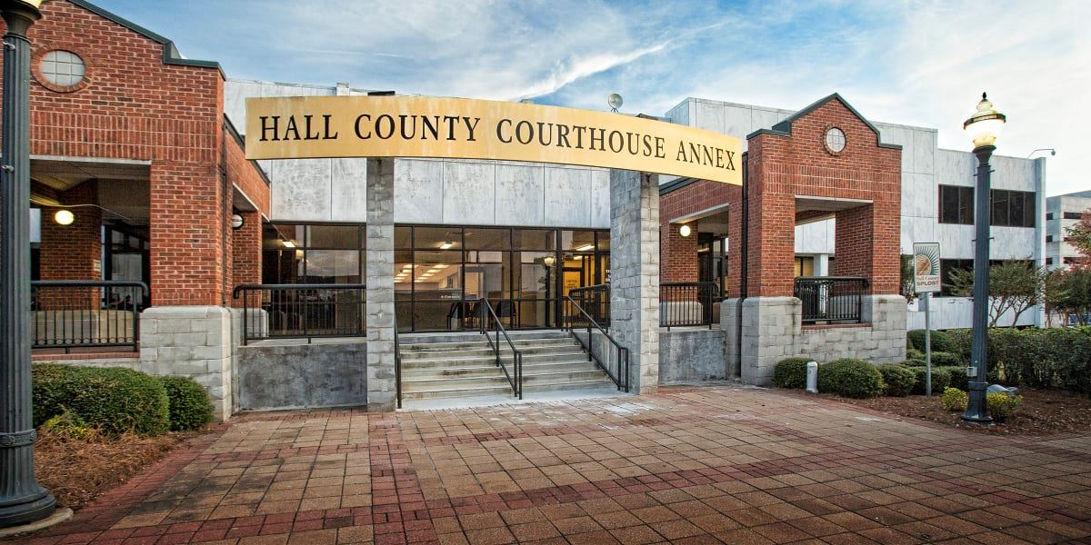 Hall County Courthouse Annex Picture