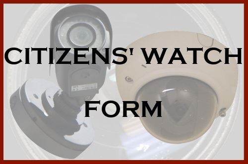 Citizens watch form button