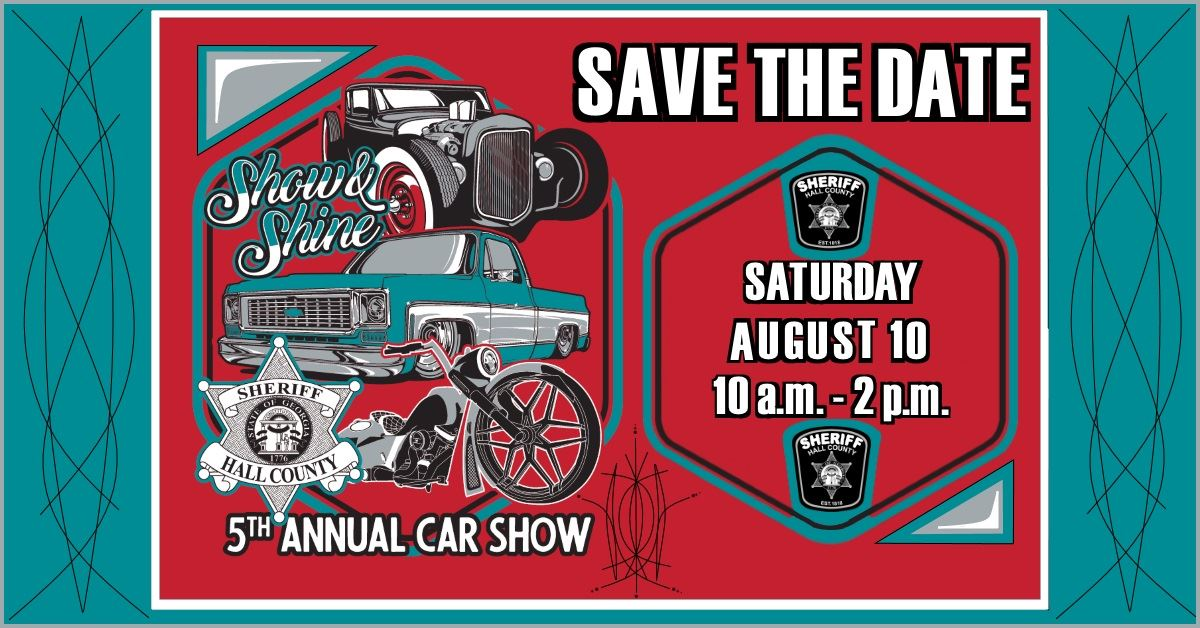 2019 Show and Shine save the date