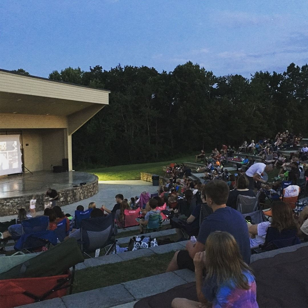 Cherokee Bluffs movie night July 2018