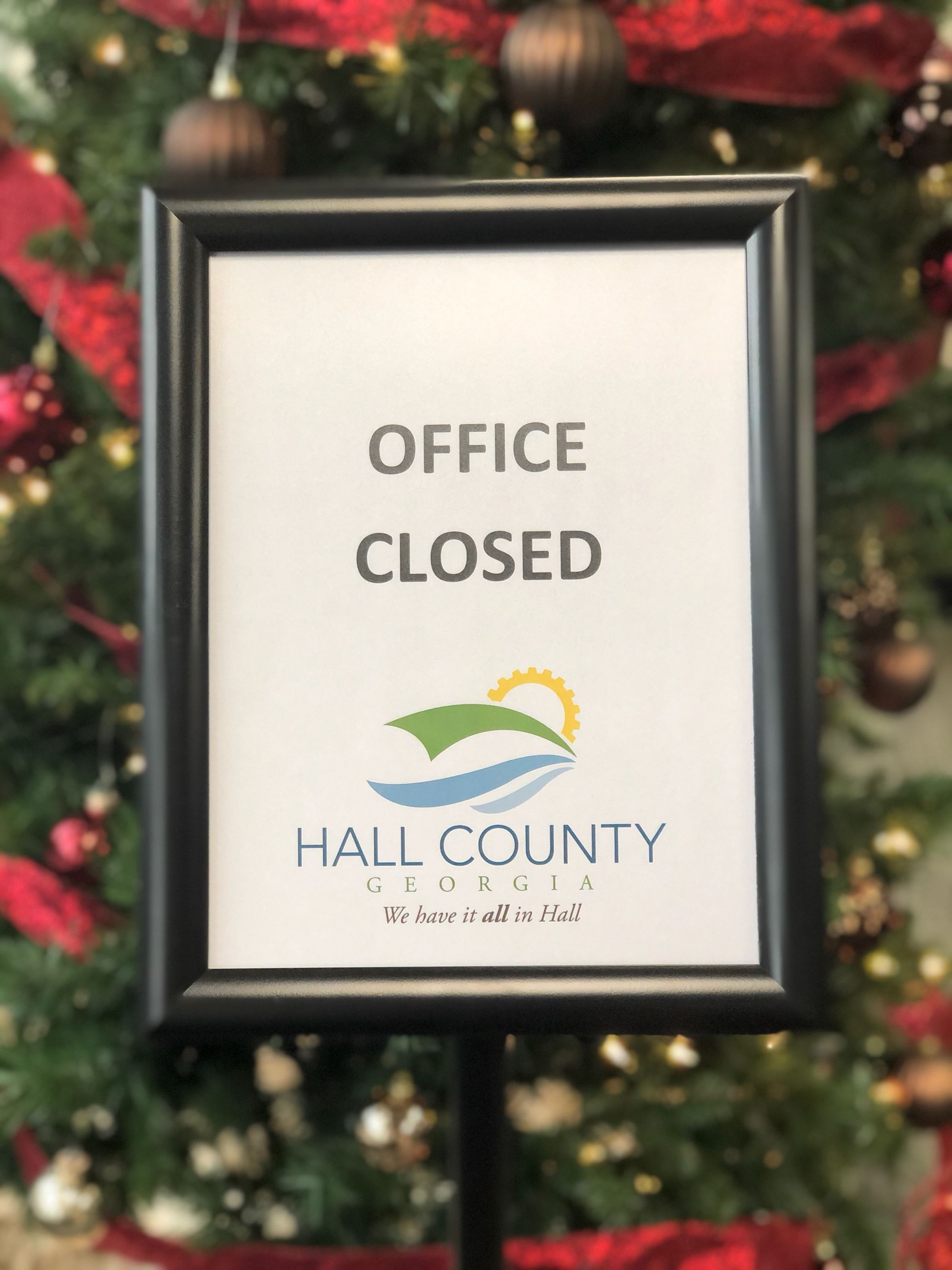 office closed- christmas