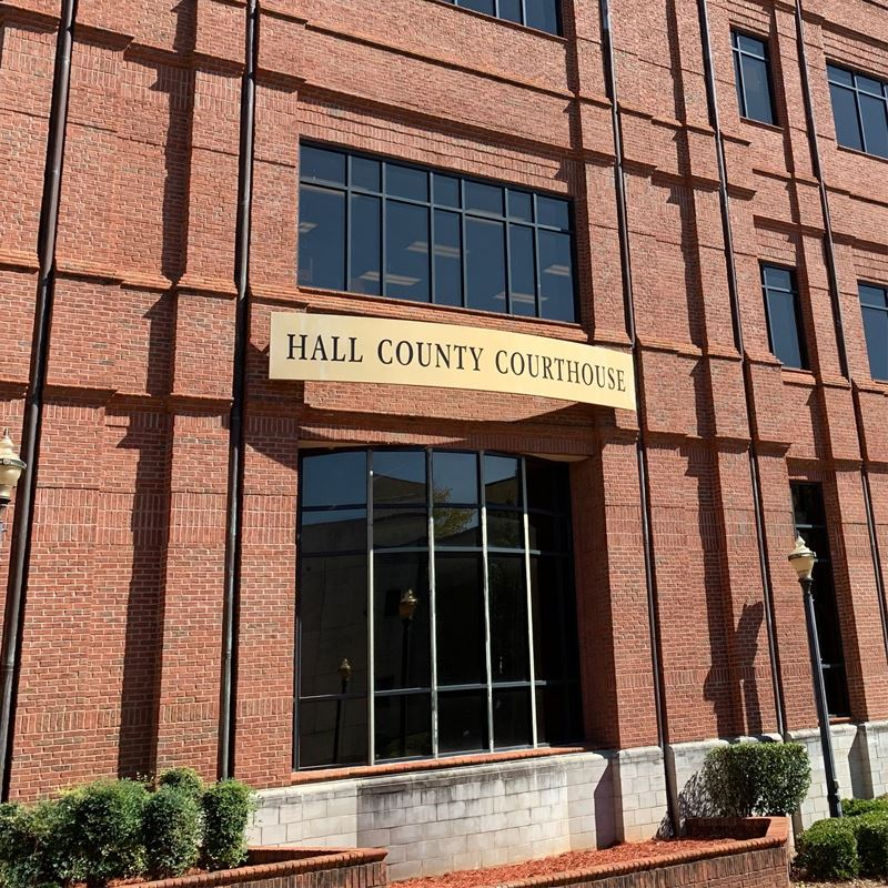 The Hall County Courthouse