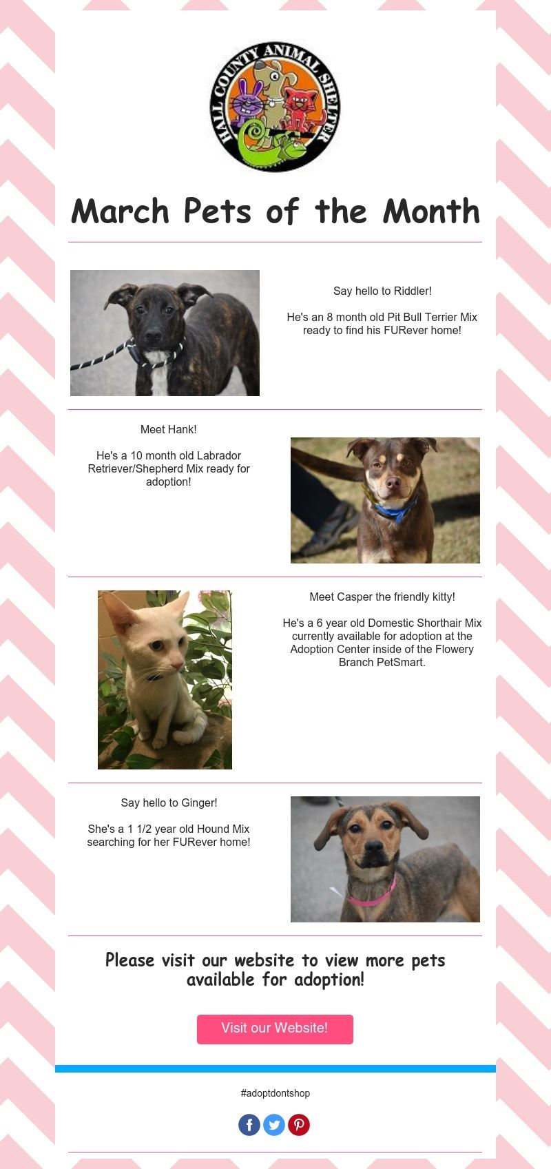 March Pets of the Month 2020
