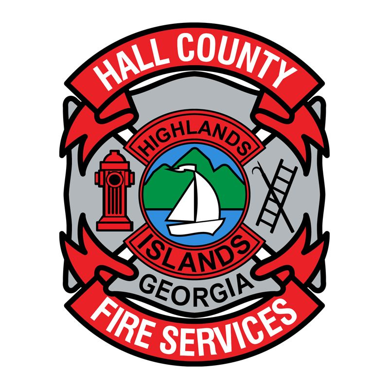 Hall County Fire Services logo